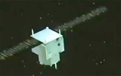Wizualizacja satelity Yaogan-30 / kadr z telewizji CCTV