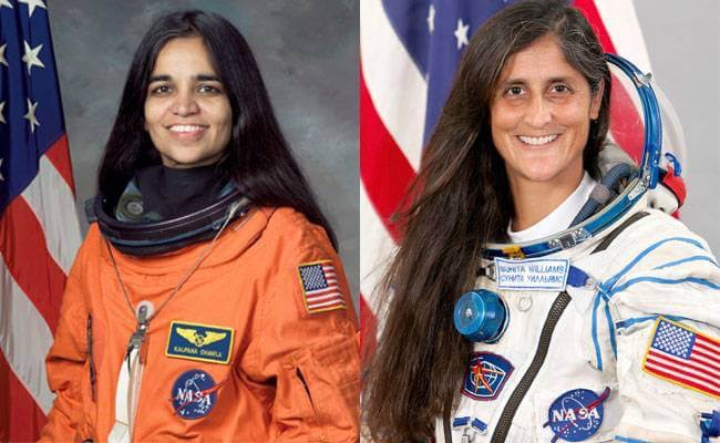 Kaplana Chawla i Sunita Williams / NASA