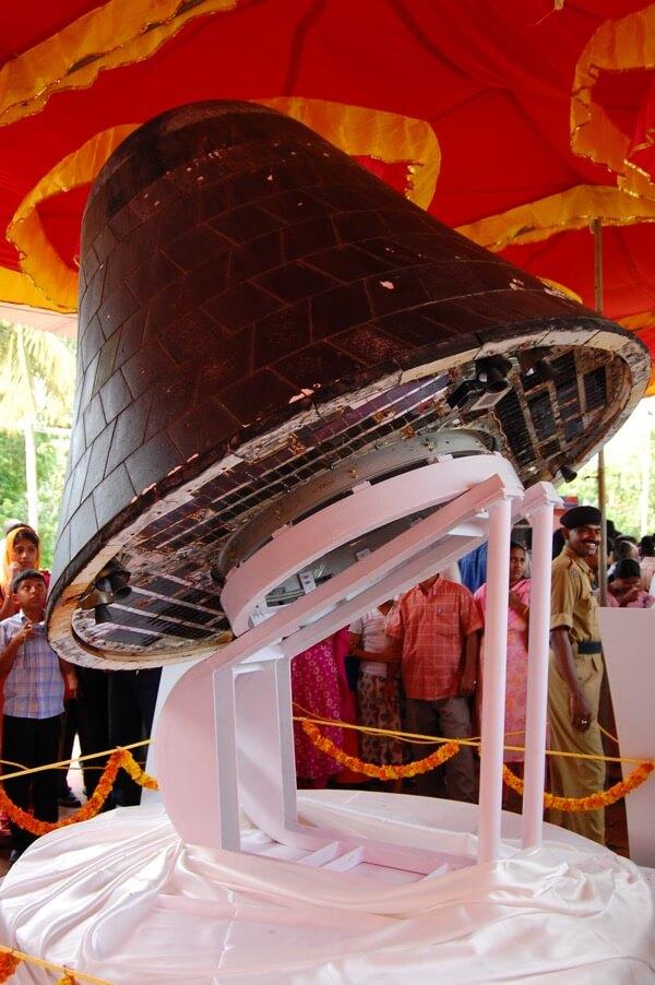Odzyskana kapsuła SRE / ISRO