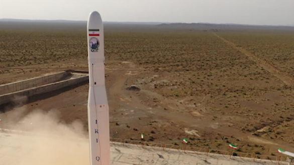 Pierwszy start rakiety Qased