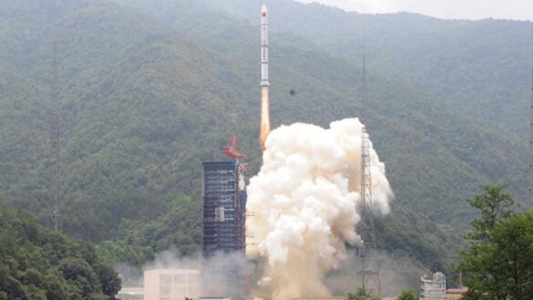 A CZ-2C rocket launch with Yaogan-30 satellites
