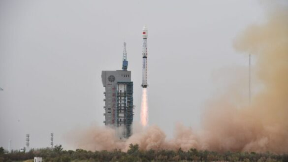 CZ-4B launch with the Haiyang 2C satellite