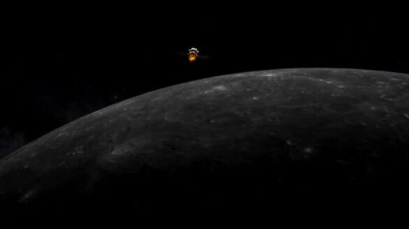 Chang'e 5 na orbicie Księżyca / Weixin