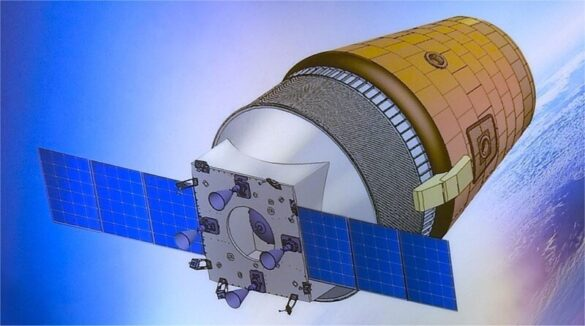 Gaganyaan spacecraft render / ISRO