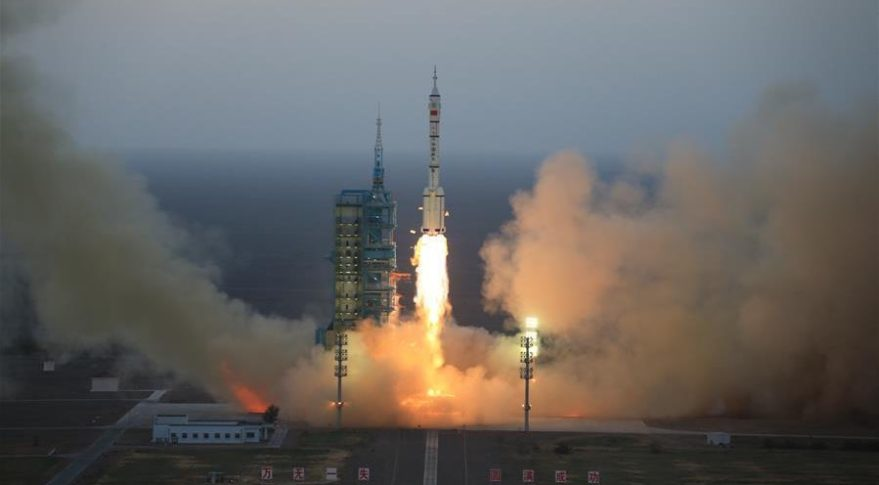 The first flight of a Chinese military spaceplane