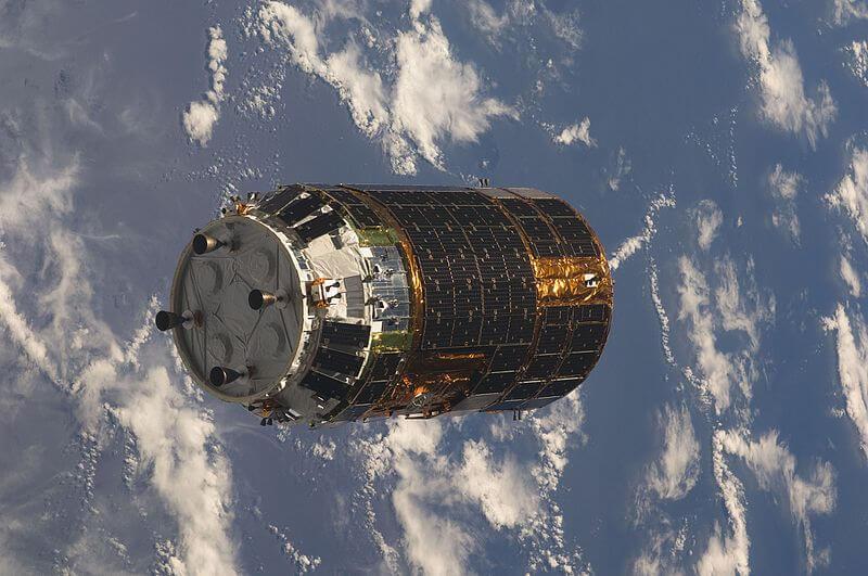 HTV-1 zbliża się do ISS / NASA