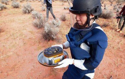 Hayabusa 2 samples retrieved on Earth / JAXA/EPA