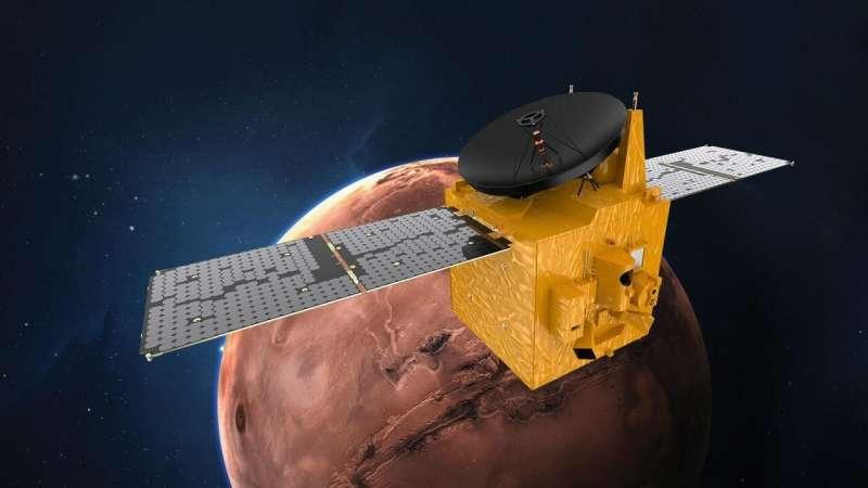 Sonda al-Amal (Nadzieja) dotarła do Marsa