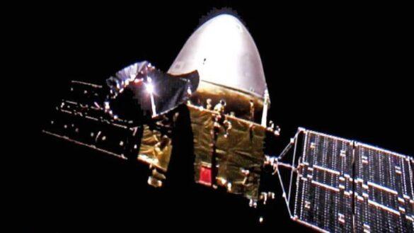Selfie Tianwen-1 z podróży na Marsa / CNSA