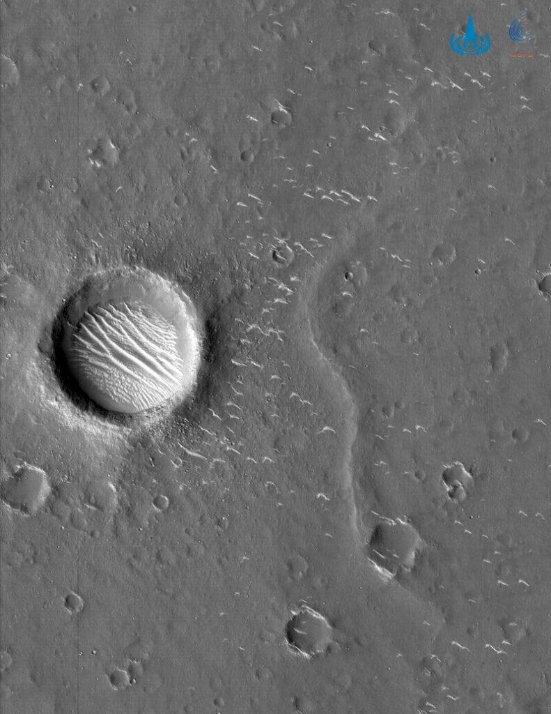 Zdjęcie powierzchni Marsa z Tianwen-1 / CNSA