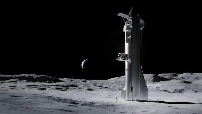 Podcast #5 SpaceX zbuduje lądownik księżycowy dla programu Artemis