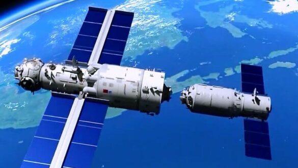 Statek Tianzhou 2 cumuje do modułu Tianhe / CNSA