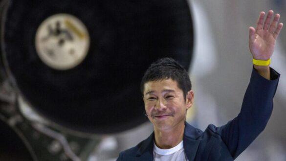 Yusaku Maezawa / foto. David McNew, AFP