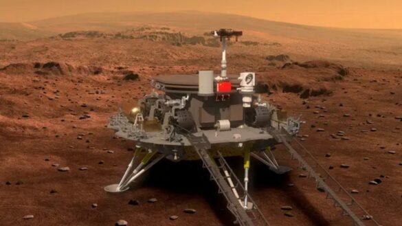 Zhurong na Marsie / CNSA