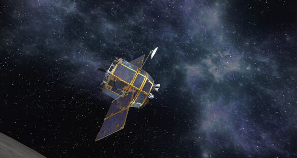 Wizualizacja księżycowej sondy Korean Lunar Pathfinder Orbiter / KARI