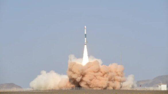 Start rakiety Kuaizhou z 27 września 2021 / Exspace